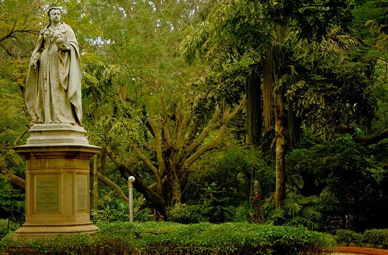 queen victoria statue cubbon park