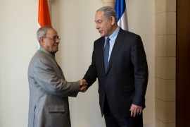 President of India in Israel picture
