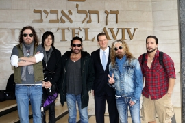 The Dead Daisies at the Dan Tel Aviv Hotel picture