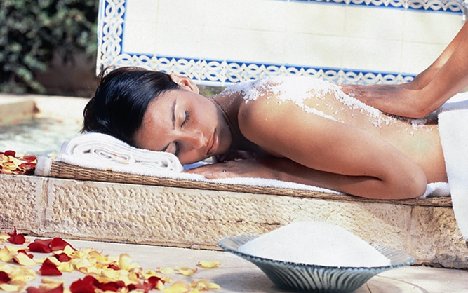 Spa treatment picture