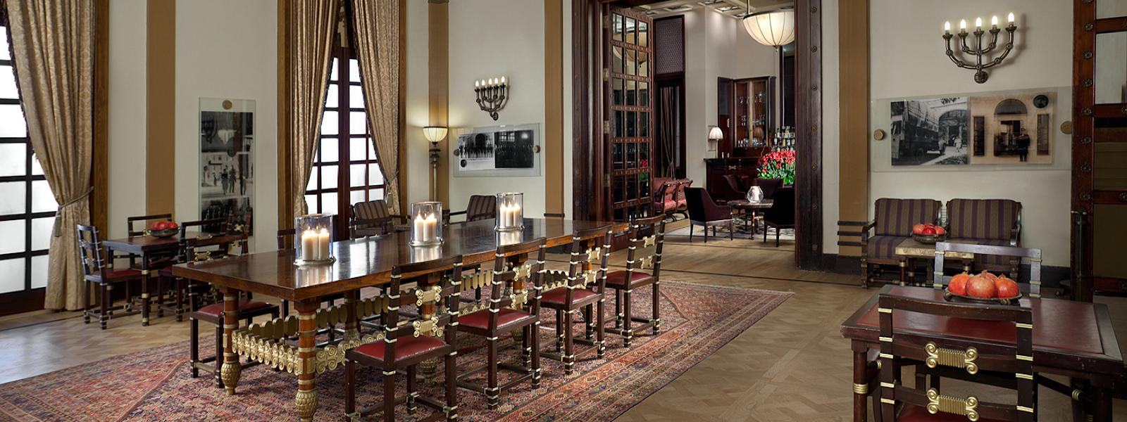 Reading Room at the King David Hotel