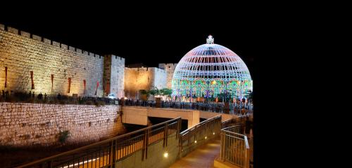 Light festival in the old city picture