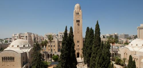 YMCA and the area of the King david hotel picture