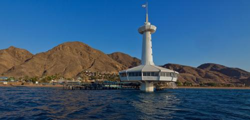 Eilat under water observatory picture