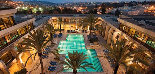 Dan jerusalem view and swimming pool