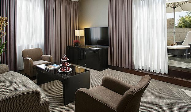 Executive Suite living room picture